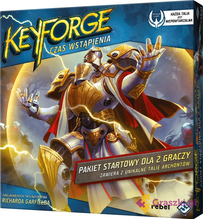 KeyForge: Czas Wstąpienia - Pakiet startowy | Rebel